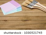 home painting project themed... | Shutterstock . vector #1030521745