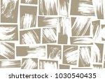 brushstroke square allover... | Shutterstock .eps vector #1030540435