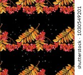 seamless floral pattern with...   Shutterstock .eps vector #1030549201