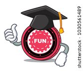 graduation funfair coin... | Shutterstock .eps vector #1030561489
