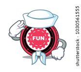 sailor funfair coin character... | Shutterstock .eps vector #1030561555