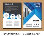 design cover brochure layout... | Shutterstock .eps vector #1030563784