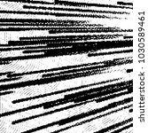 black and white grunge stripe... | Shutterstock . vector #1030589461