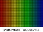 led screen texture. diode... | Shutterstock .eps vector #1030589911