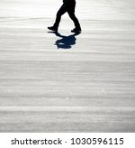 kid's walking with space  | Shutterstock . vector #1030596115