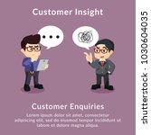 customer insight customer...   Shutterstock .eps vector #1030604035