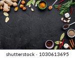gastronomy  culinary. secrets...   Shutterstock . vector #1030613695