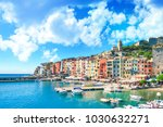 colorful picturesque harbour of ... | Shutterstock . vector #1030632271