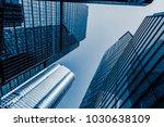 commercial building in... | Shutterstock . vector #1030638109
