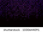 dark purple vector cover with... | Shutterstock .eps vector #1030644091