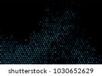 dark blue vector background... | Shutterstock .eps vector #1030652629