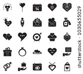 solid black vector icon set  ... | Shutterstock .eps vector #1030655029