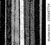 black and white grunge stripe... | Shutterstock .eps vector #1030687714