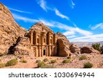 highlight of petra  the amazing ... | Shutterstock . vector #1030694944