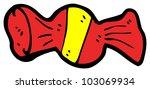 cartoon candy   Shutterstock . vector #103069934