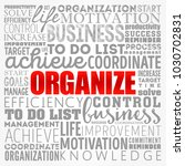 organize word cloud collage ... | Shutterstock .eps vector #1030702831