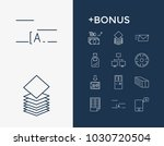 commercial icon set and email...