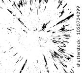 radial concentric particles... | Shutterstock .eps vector #1030724299