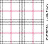check fashion tweed white  pink ... | Shutterstock .eps vector #1030759699