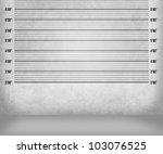 police lineup background | Shutterstock . vector #103076525