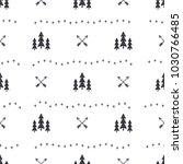hand drawn seamless pattern...   Shutterstock . vector #1030766485