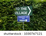 signs in the bush | Shutterstock . vector #1030767121
