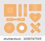 vector illustration set of... | Shutterstock .eps vector #1030767535