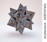 3d rendering lowpoly polygon... | Shutterstock . vector #1030767601