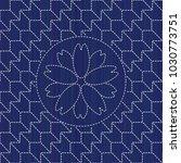kimono pattern. sashiko texture ... | Shutterstock .eps vector #1030773751