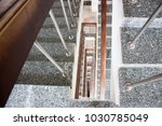stairwell in the hospital | Shutterstock . vector #1030785049