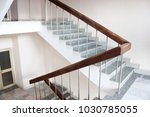 stairwell in the hospital | Shutterstock . vector #1030785055