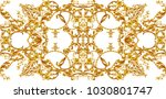 decorative composition with... | Shutterstock . vector #1030801747