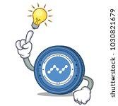 have an idea nano coin mascot... | Shutterstock .eps vector #1030821679
