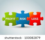 vector business model   profit  ... | Shutterstock .eps vector #103082879