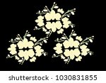 abstract orchid pattern. gentle ... | Shutterstock .eps vector #1030831855