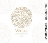 vector emblem. can be used for... | Shutterstock .eps vector #1030838701