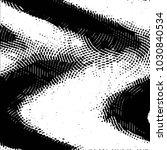 grunge halftone black and white ... | Shutterstock .eps vector #1030840534