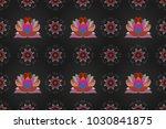 colour spring theme seamless... | Shutterstock . vector #1030841875