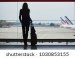 young woman in international... | Shutterstock . vector #1030853155
