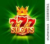 big win slots 777 banner casino ... | Shutterstock .eps vector #1030858561