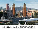 barcelona  catalonia  spain  ... | Shutterstock . vector #1030860811