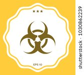 biological hazard sign | Shutterstock .eps vector #1030862239
