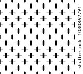 seamless pattern with crosses... | Shutterstock .eps vector #1030862791