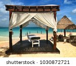 cancun  mexico   january 27 ... | Shutterstock . vector #1030872721