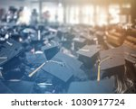 graduation day. commencement... | Shutterstock . vector #1030917724