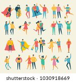 vector illustration in a flat... | Shutterstock .eps vector #1030918669