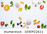 various vegetable and... | Shutterstock . vector #1030922611
