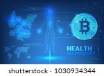 abstract health technology web... | Shutterstock .eps vector #1030934344