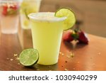refreshing drinks with fruits | Shutterstock . vector #1030940299