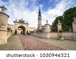 the jasna gora monastery in... | Shutterstock . vector #1030946521
